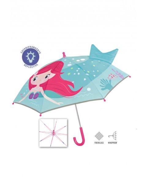 Parasolka dziewczęca manualna- Perletti Cool Kids 3+
