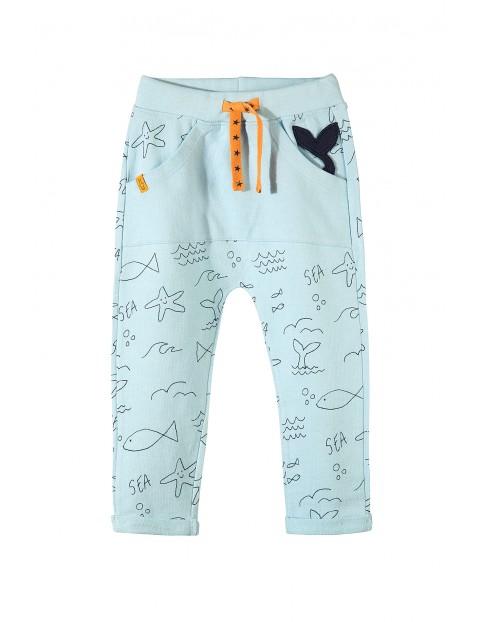 Spodnie dresowe niemowlęce 5M3419