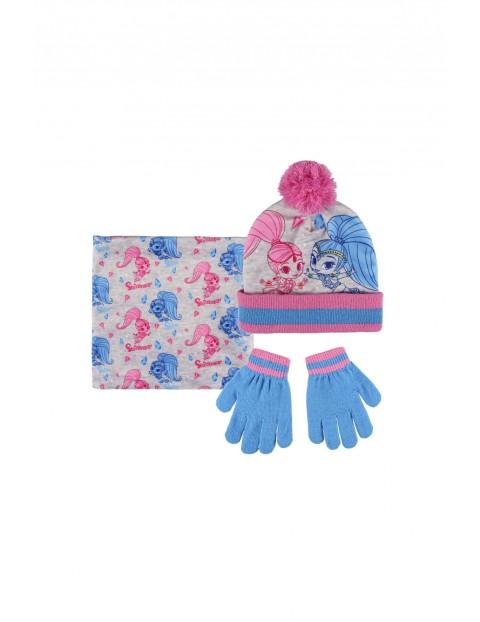 Komplet czapka szalik rękawiczki 3X35BF