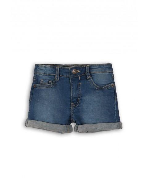 Szorty jeansowe dziewczęce rozm 92/98