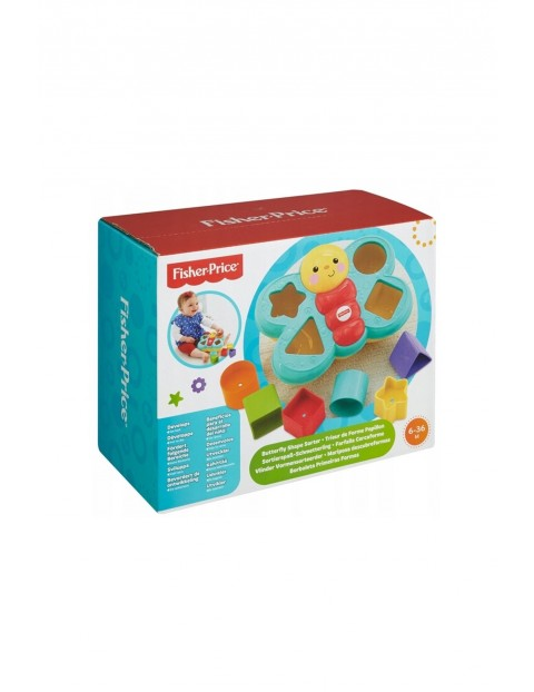 Sorter z motylkiem Fisher Price 5Y35DB