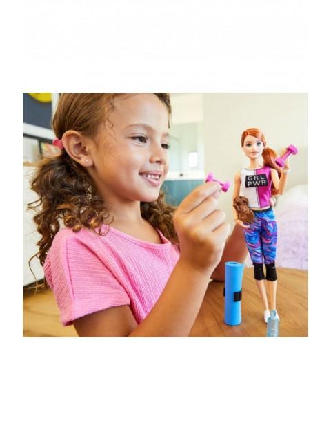 Barbie - Zestaw Relaks na siłowni Lalka z pieskiem i akcesoria wiek 3+