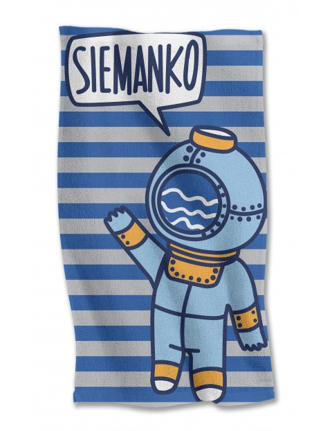 Ręcznik bawełniany  Siemanko 70x140 cm