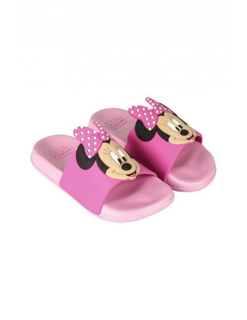 Klapki dziewczęce Myszka Minnie różowe