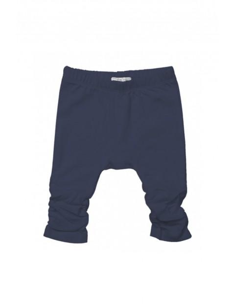 Spodnie niemowlęce  - granatowe