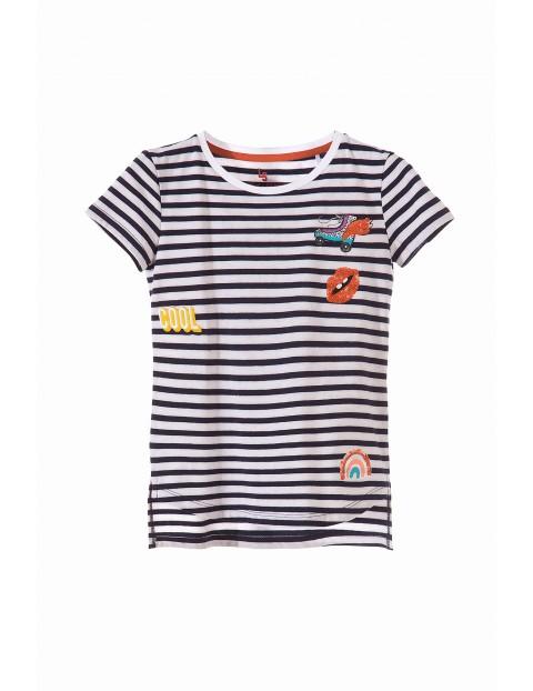 T-shirt dziewczęcy 4I3404