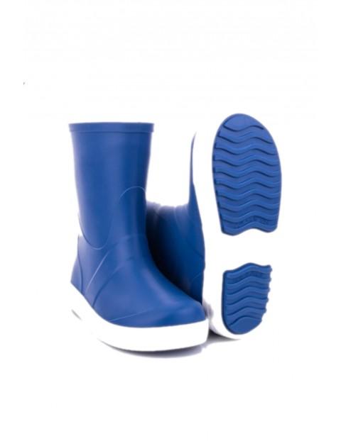 Kalosze dziecięce Wave - niebieskie