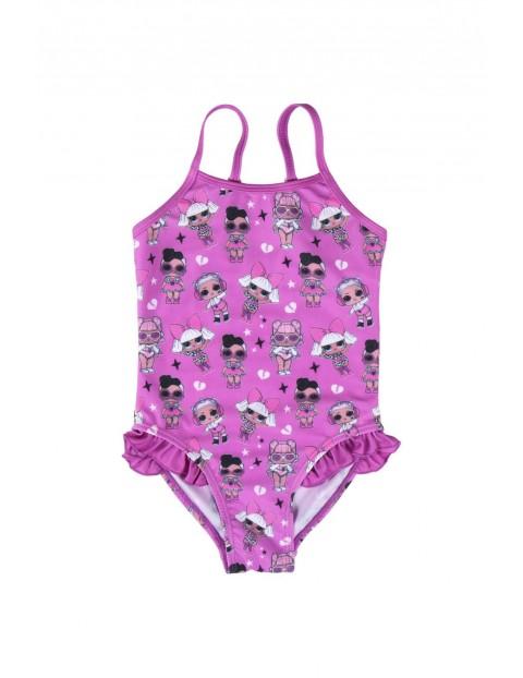 Strój kąpielowy LOL Surprise - różowy