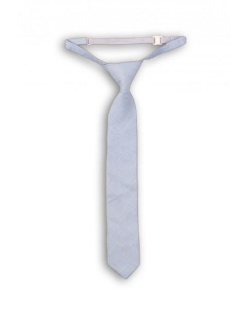 Krawat chłopięcy niebieski