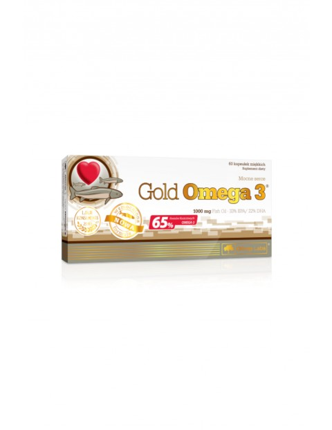 Gold Omega 3 60 kapsułek (65%)/1000 mg  TOP