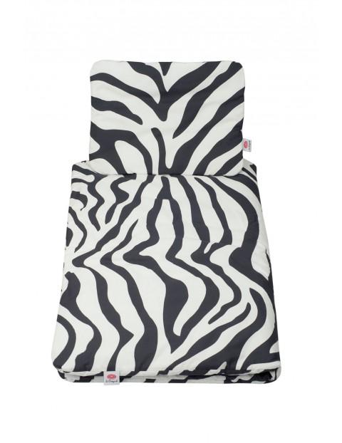 Pościel bawełniana Zebra - 135x100 / 40x40cm