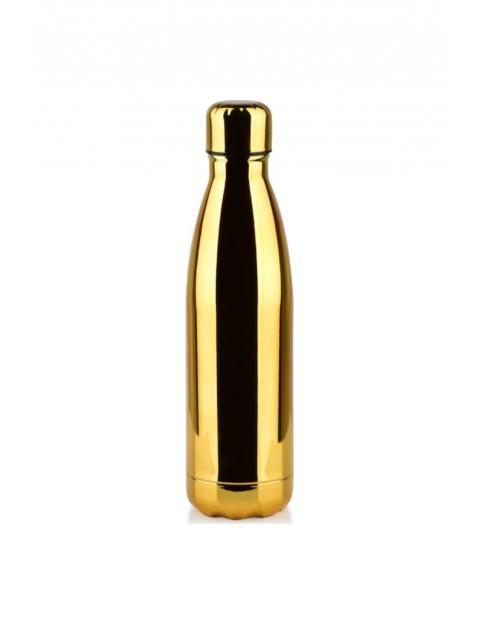 Butelka termiczna HOLLIE złota -500 ml
