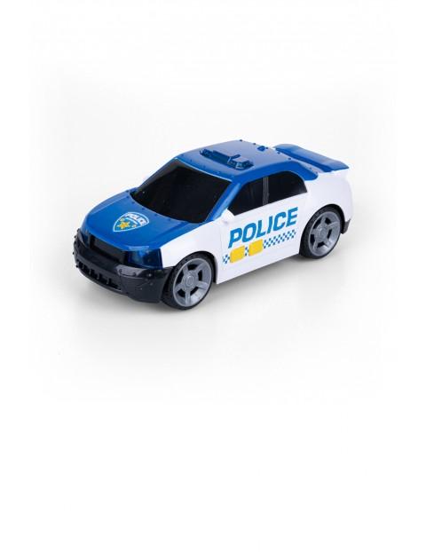 Flota miejska - samochód policyjny światło i dźwięk