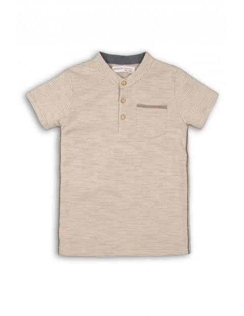 Koszulka chłopięca ze stójką