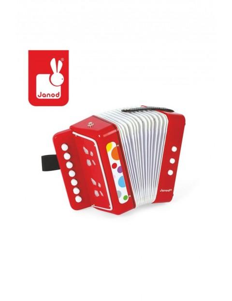 Akordeon Confetti Janod- zabawka dla dzieci