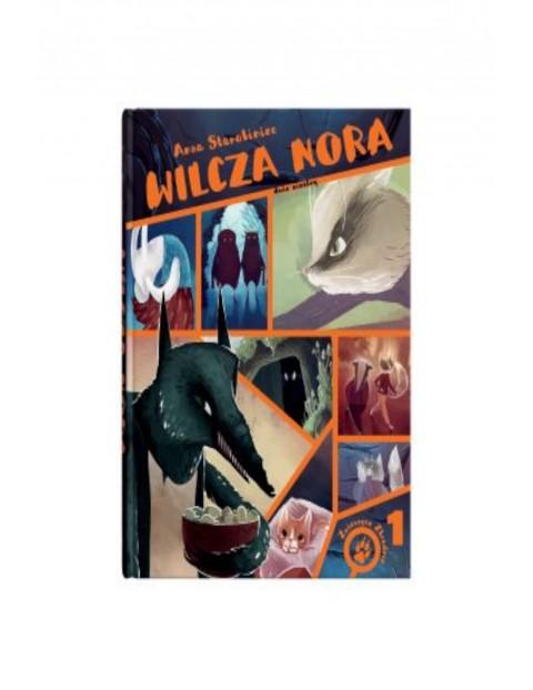 """Książka  """"Wilcza Nora"""""""