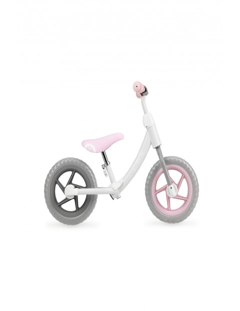 ROSS rowerek biegowy szaro -różowy Momi