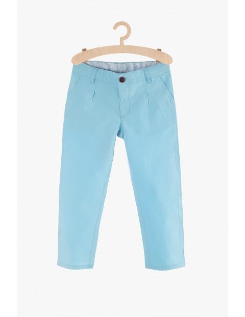 Spodnie chłopięce niebieskie