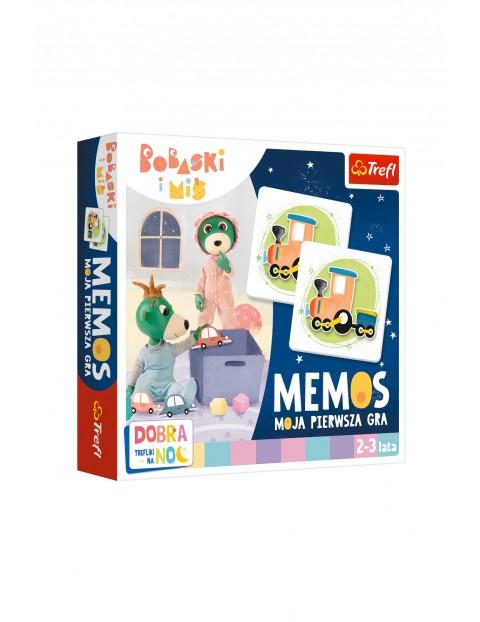 Gra -Mój pierwszy memos- Dobranoc, Trefliki na noc wiek 2-3 lata