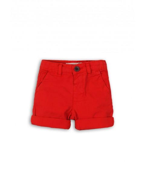 Spodnie niemowlęce - czerwone