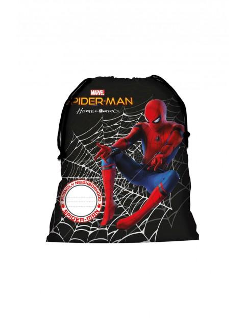 Worek chłopięcy na buty Spiderman