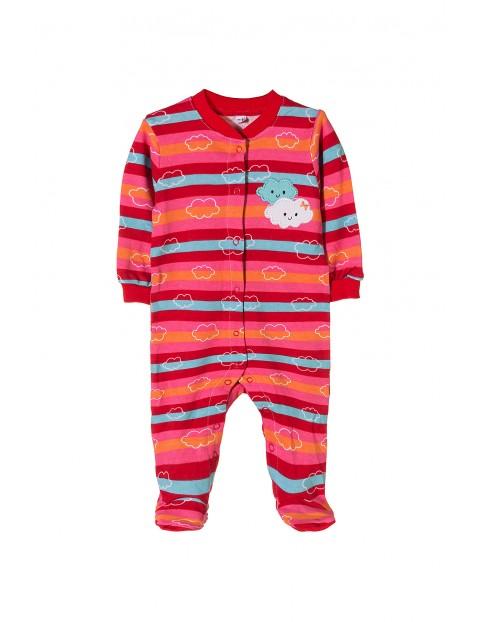 Pajac niemowlecy bawełniany 5R35AC