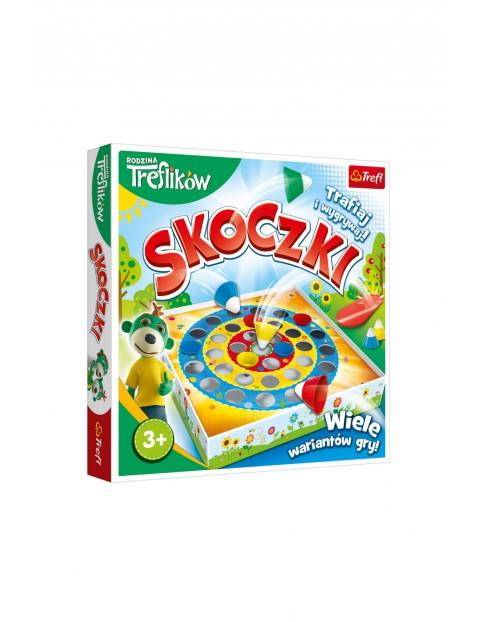 Gra Skoczki Rodzina Treflików- 3+
