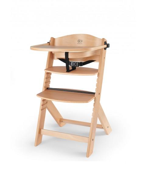 Krzesełko do karmienia ENOCK wooden - brązowe