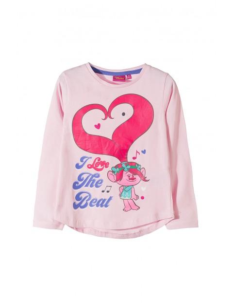 Bluzka dziewczęca Trolle 3H35B0