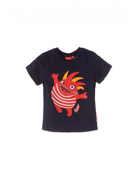 T-shirt chłopięcy 100% bawełna 1I34DH
