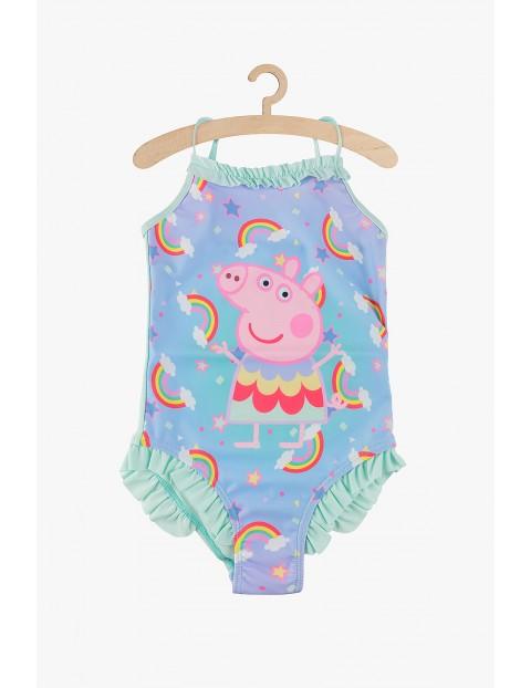 Strój kąpielowy dla dziewczynki- Świnka Peppa