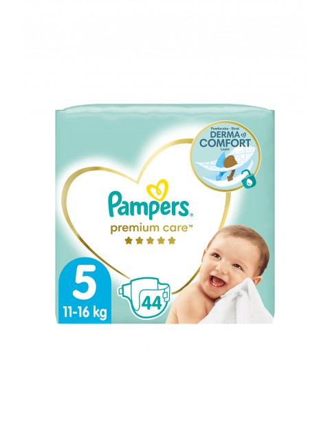 Pampers Premium Care, Rozmiar 5, 44 pieluszki 11-16kg