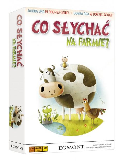 Gra edukacyjna dla dzieci CO SŁYCHAĆ NA FARMIE wiek 6+