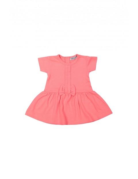 Sukienka niemowlęca z kokardką