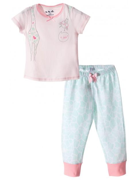 Pidżama dziewczęca 3W3413