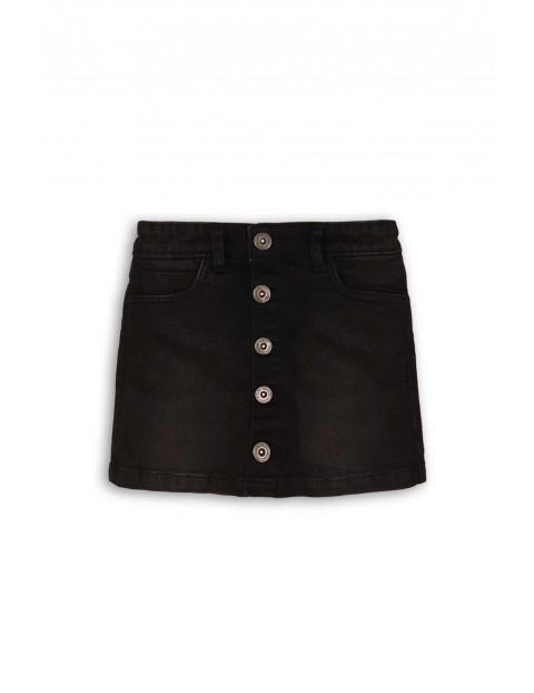 Jeansowa spódniczka dla dziewczynki- czarna