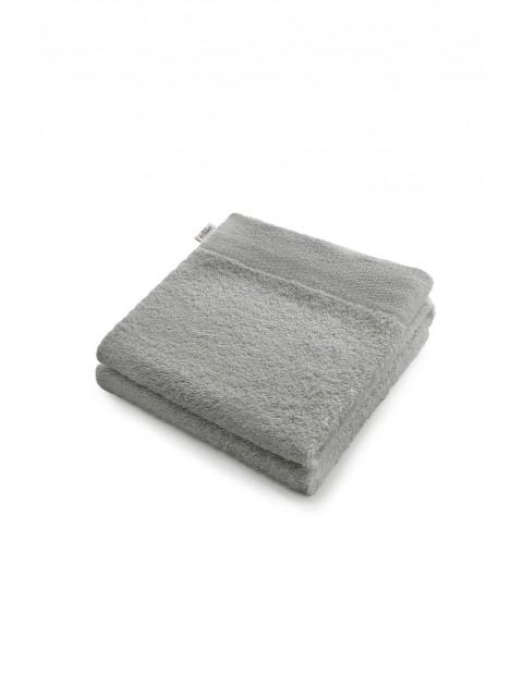 Bawełniany ręcznik kąpielowy - szary - 50x100 cm