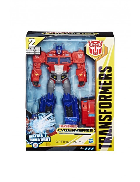 Transformers Cyberverse Ultimate Optimus Prime 6+