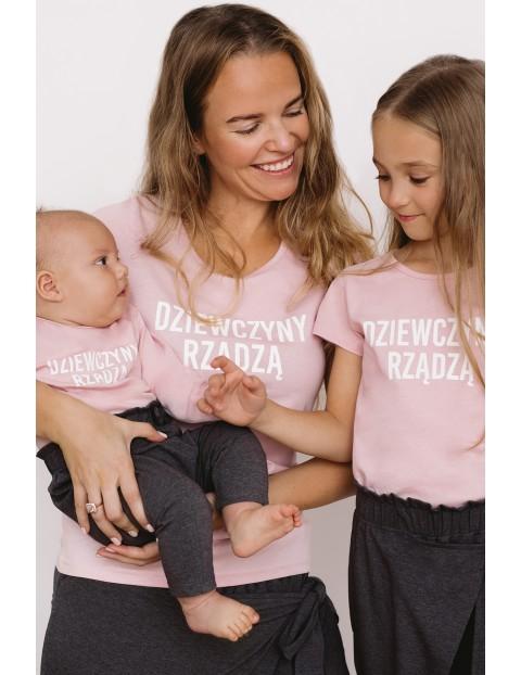 T-shirt dziewczęcy - Dziewczyny rządzą