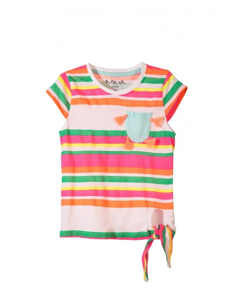 T-shirt dziewczęcy 3I3443