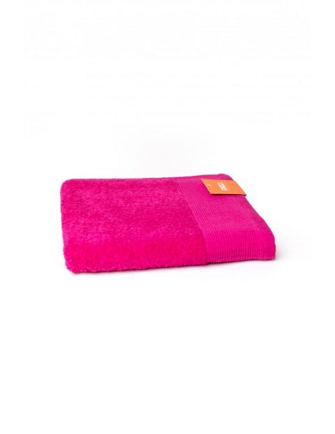 Ręcznik Aqua Frotte w kolorze różowym 70x140 cm