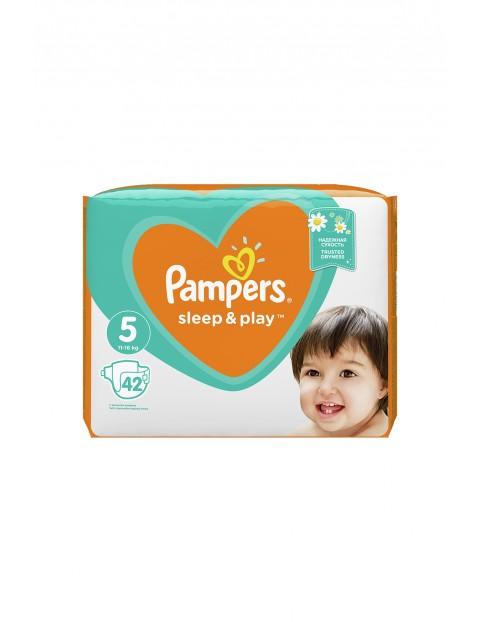 Pampers Sleep&Play, rozmiar 5, 42 pieluszki 11–16kg