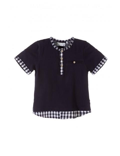 Elegamncka koszulka chłopięca