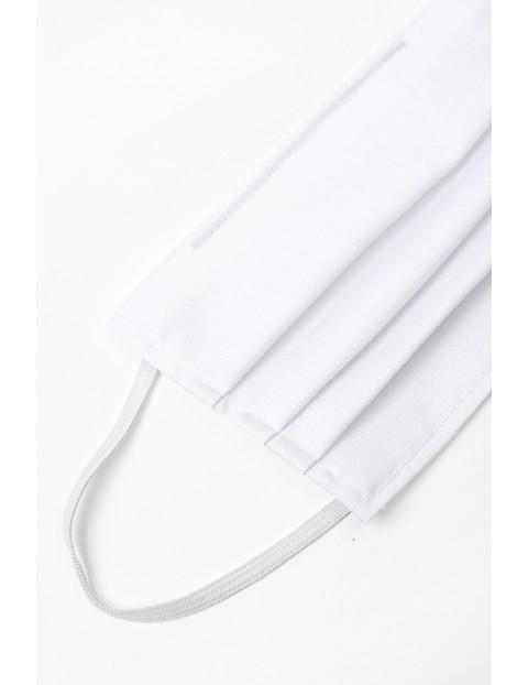 Maseczki bawełniane - białe 2szt