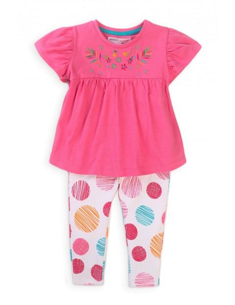 Bawełniany komplet ubrań dla niemowlaka