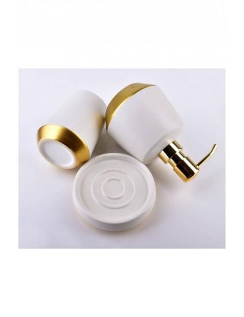 EDA WHITE Komplet łazienkowy  biały 3-pack