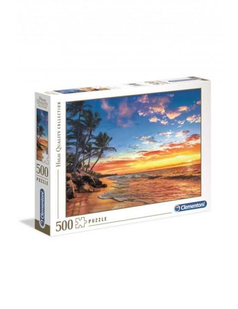 Puzzle  Rajska plaża Clementoni- 500 el