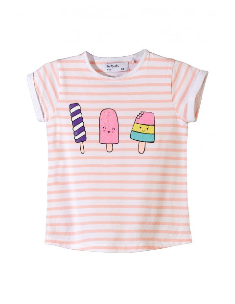 T-shirt dziewczęcy 3I3445