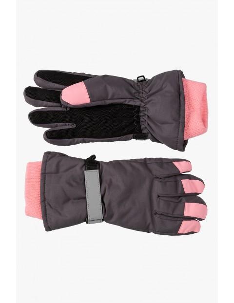 Rękawice narciarskie dla dziewczynki