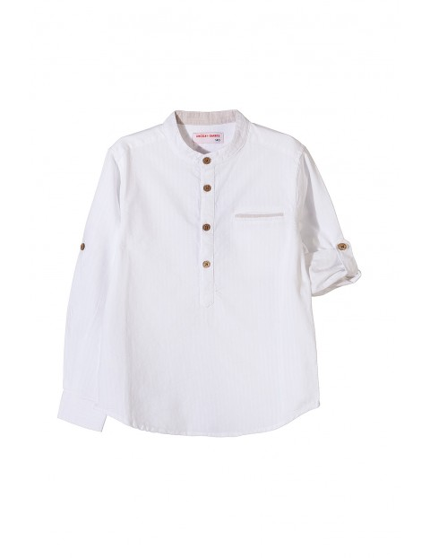Koszula chłopięca biała 2J3418